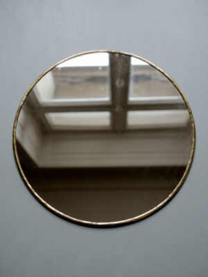 miroir-rond-doré