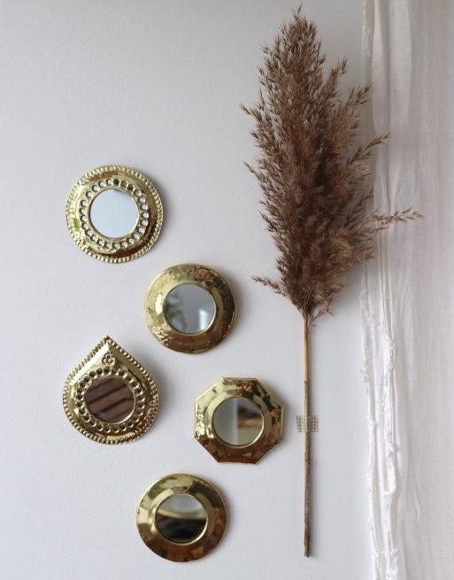 mini-miroir-doré