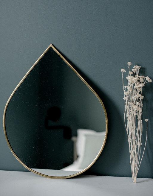 miroir-goutte-metal