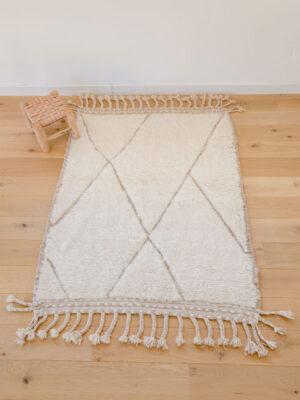 tapis-laine-losanges-beige