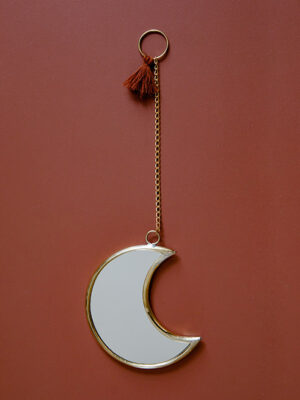 Miroir Lune Terracotta