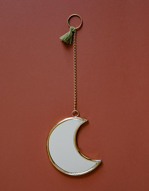Miroir Lune Olive