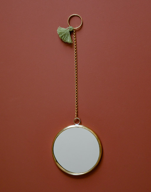 Miroir Rond Olive