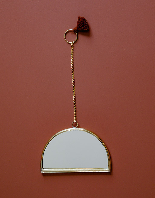 Miroir Arc Terracotta