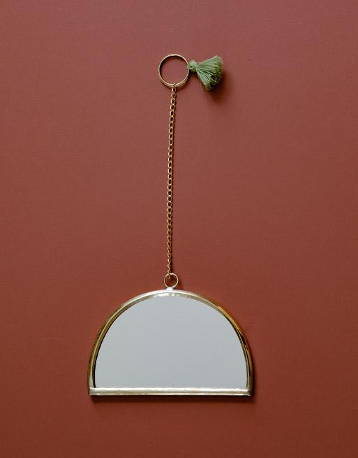 Miroir Arc Olive